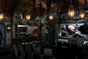 Batcave home theater seating and chairs